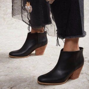 Rachel Comey Mars Black Leather Bootie
